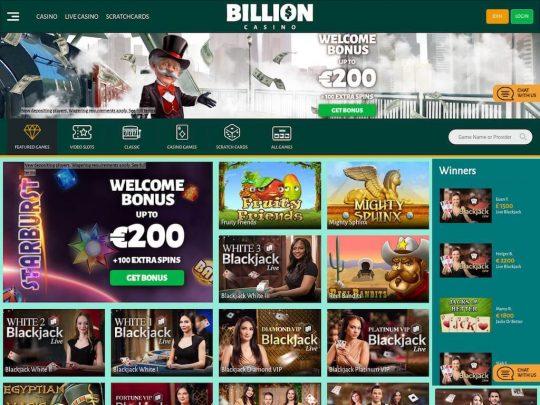 Billion Casino Review