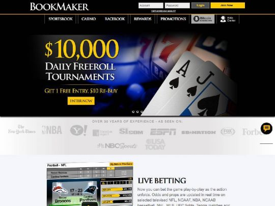 Bookmaker.eu Review
