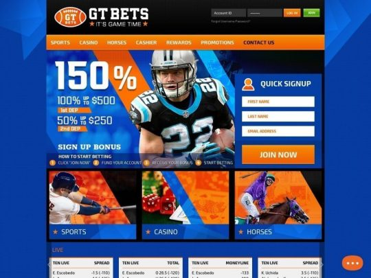 GTBets Sportsbook Review