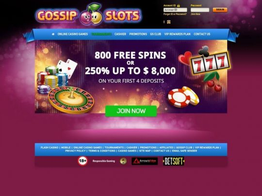 Gossip Slots Review