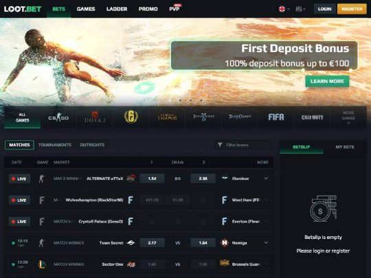 Loot.Bet Esports Review