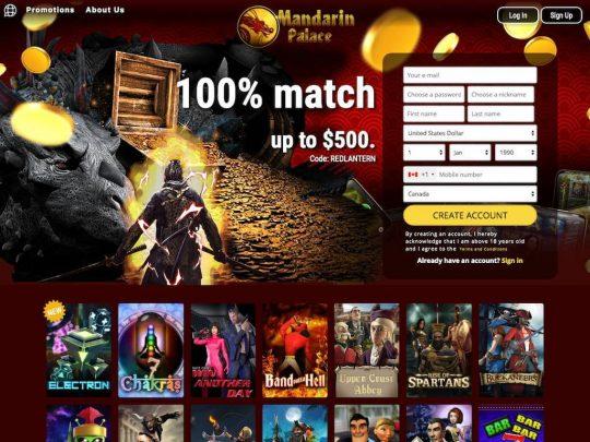 Mandarin Palace Casino Review