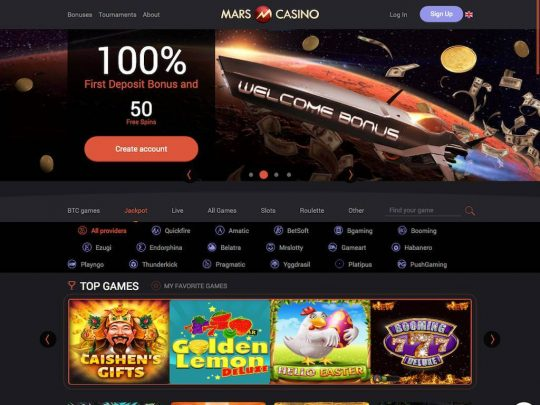 Mars.Casino Review