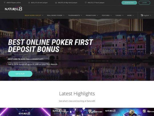 Natural8 Poker Review