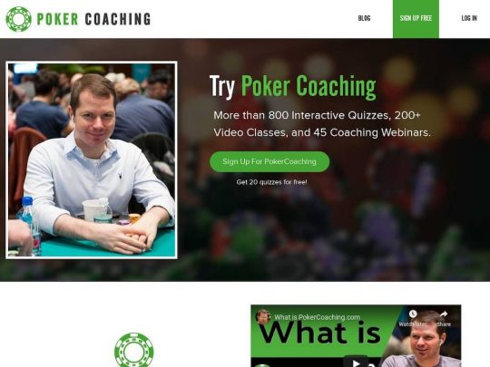 PokerCoaching.com Review