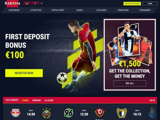 Rabona Sportsbook Review