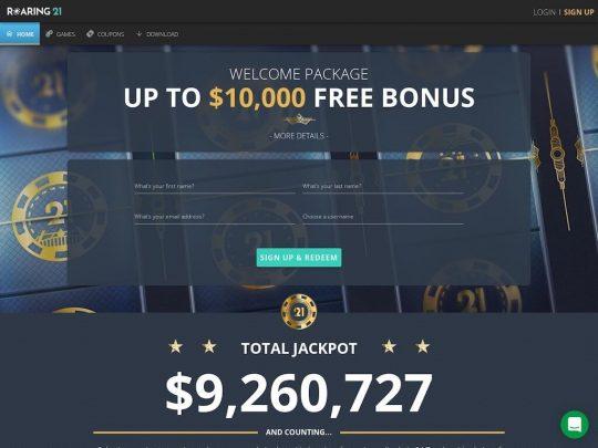 Roaring21 Casino Review