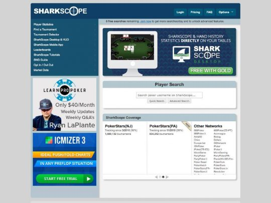 Sharkscope Review