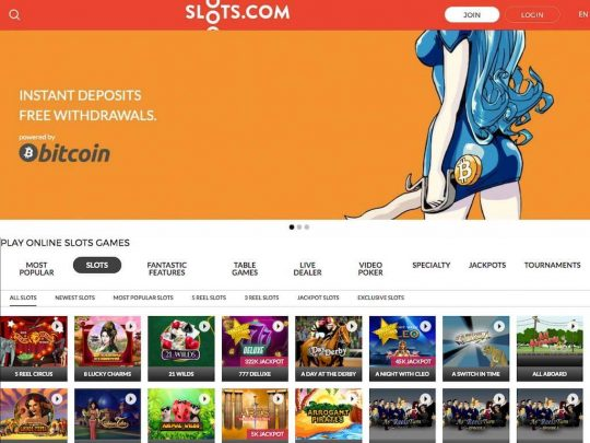 Slots.com Review