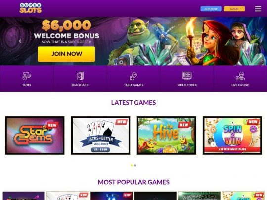 Super Slots Review