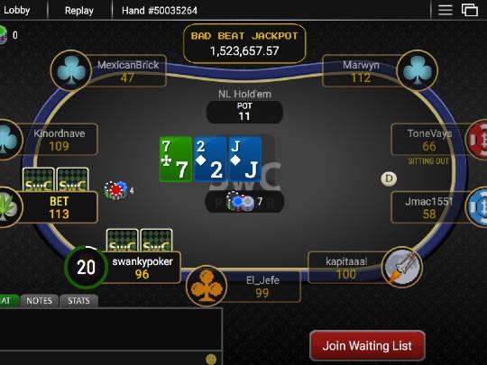 SwC Poker Cash Games