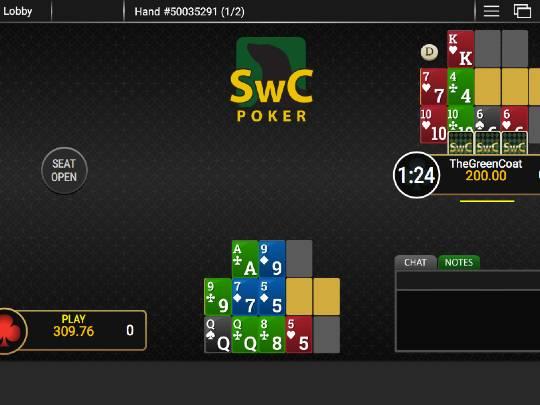 SwC Poker Chinese Poker